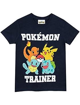 Pokèmon Camiseta Para Niño