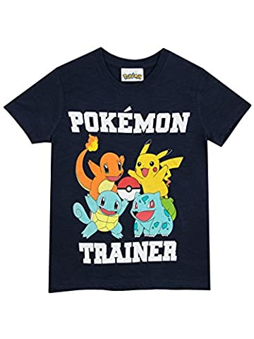 Pokemon - T-Shirt - Pokemon - Garçon - 5 a 6 Ans