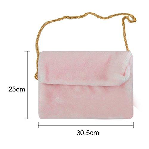 Meliya, Poschette giorno donna, Pink (Rosa) - bb-01598-03YA Pink