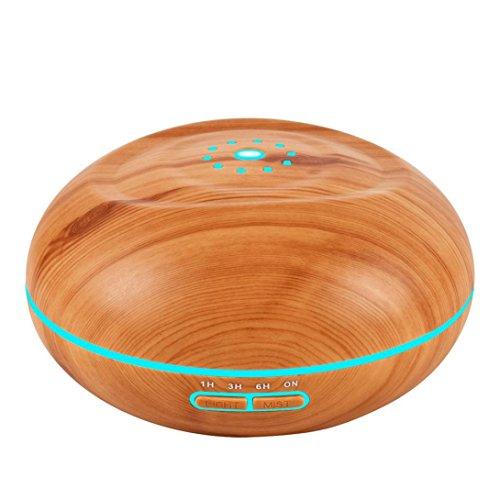 Fuibo Farbwechsel 500L Ultraschall-Luftbefeuchter-Reinigungsapparat-LED ätherisches Öl-Diffusor-7 | Humidifier| Befeuchter für zuhause Yoga Büro SPA Schlafzimmer (C) (öl-diffusor-und Reinigungsapparat)