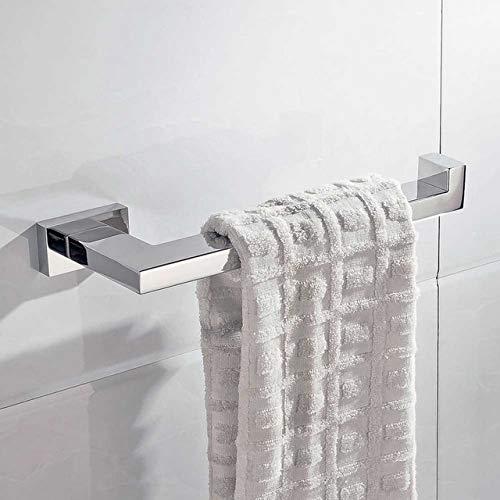JJHR Sus304 Edelstahl Bad Hardware Set Chrom Spiegel Poliert Toilettenpapierhalter Kleiderhaken Handtuchhalter Bad-Accessoires -