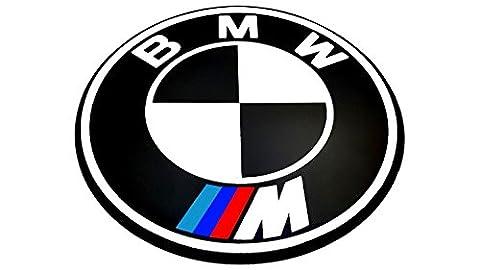 Bmw ///M Motorhauben,Heckklappen Emblem,Set 82mm & 72mm E38 E39 E46 E90 E60 E65 F10 X4