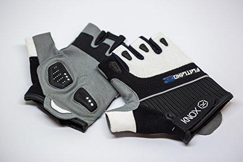 e-skate Handschuh, Schwarz / grau / weiß, xl (Skates Erste)