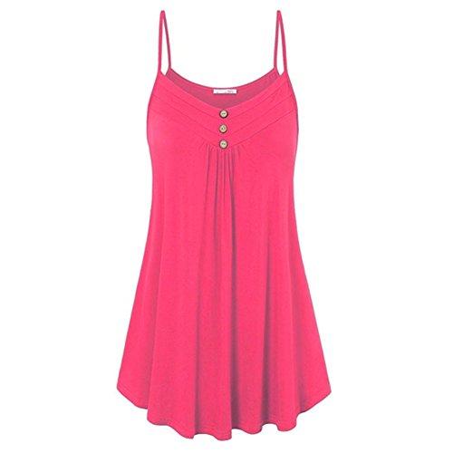 Juleya Camicie donna Jumpers Mini abiti da donna Felpa lunga Camicette T-shirt Tinta unita aderente Tops Casual Abito estivo Rosso A