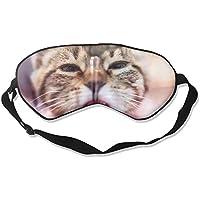 Eye Mask Eyeshade Cat Face Close Up Water Sleeping Mask Blindfold Eyepatch Adjustable Head Strap preisvergleich bei billige-tabletten.eu