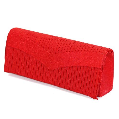 Fashion4Young, Poschette giorno donna Rosso (rosso)