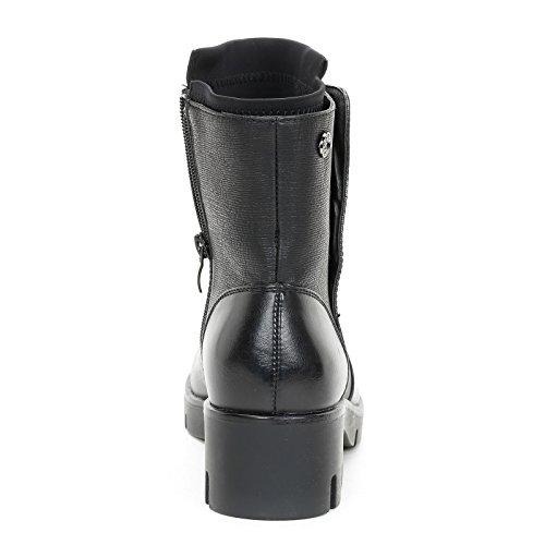 PRENDIMI by Scarpe&Scarpe - Bottines basses avec ouverture latérale et boutons automatiques, à Talons 5 cm Noir