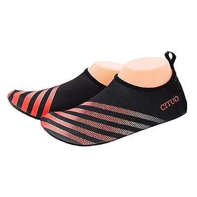Barefoot Shoes, Swim Yoga Beach Running Snorkeling Swimming Scuba Diving Socks, Water Shoes for Adult Men & Women, Neoprene Rubber Sole Aqua Socks by VILISUN