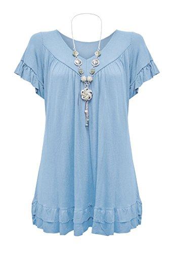 hai-le-vogue-chemisier-body-chemise-uni-col-chemise-classique-femme