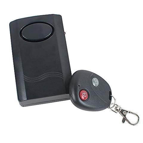 enshey Alarmanlage Diebstahlsicherung mit Fernbedienung Controller Alarm für Motorrad Scooter Fernster