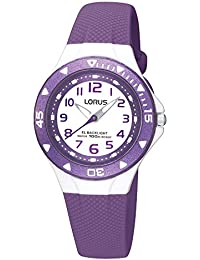 Lorus Unisex-Child Analogue Classic Quartz Watch with PU Strap R2337DX9