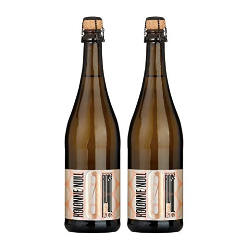 Kolonne Null - Alkoholfreier Sekt (2 x 0,75 L) - Rosé Jahrgang 2018
