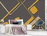 3D Wallpaper - 3D minimalistische Farbstreifen - Entfernbare Fototapete | Selbstklebende große Tapete, 400X300CM