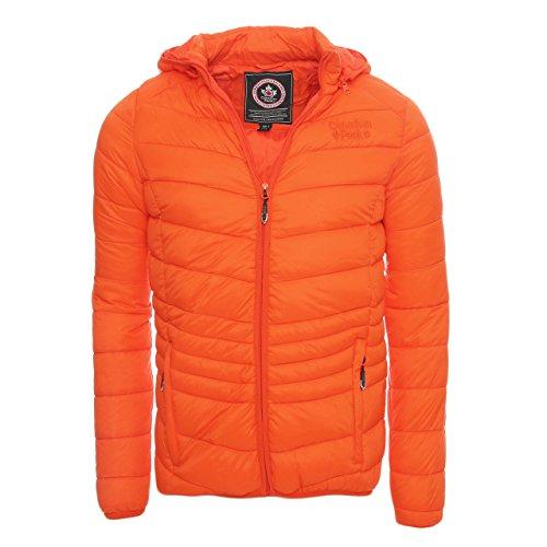 Canadian Peak by Geographical Norway Giacca Trapuntata Chapeak Orange