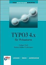 TYPO3 4.x für Webautoren
