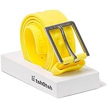 Tshotsh Original Splash Plain Belt-Yellow Unisex Belt - Waterproof