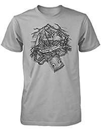Minecraft T-Shirt (Jugend) Squid Pro Quo (S)