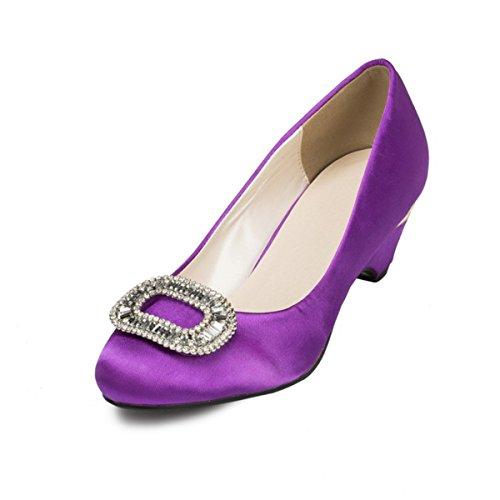 Kevin Fashion ,  Damen Modische Hochzeitsschuhe Violett