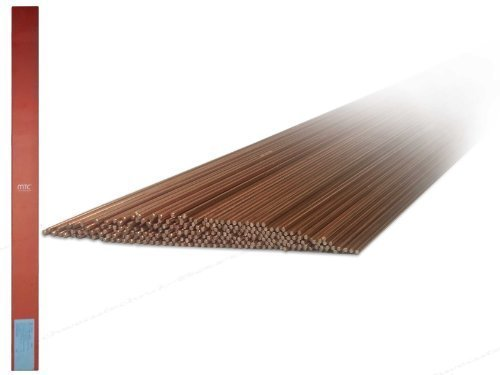 5kg 1.5125 WSG2 Bacchette Saldatura / Elettrodi a filo con 2,4 mm x 1000 mm ø per acciaio e bassa lega Acciai WIG / TIG Saldatura