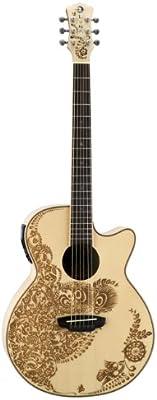 Luna Guitars HEN O2 SPR - Guitarra electroacústica