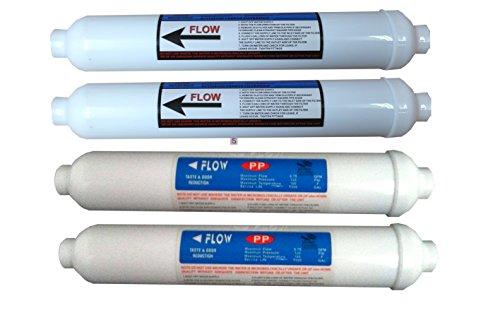 Sediment-filter Tank (Das Wasser Filter Herren Jährliche PREFILTERS Ersatz Filter Set für Umkehrosmose Aquarium Wasser Filter System 3Stage Tropische Fische Marine DISKUS)