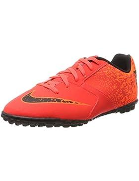 Nike Bombax TF, Zapatillas de Fútbol Unisex Niños, (Bright Crimson/Black-Hyper Crimson), 37.5 EU