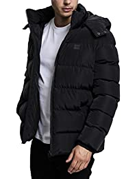 Urban Classics Hooded Puffer Jacket, Blouson Homme