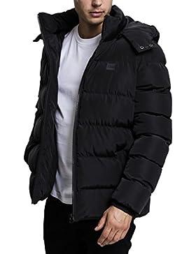 Urban Classics Hooded Puffer Jacket, Chaqueta para Hombre