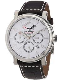 Formex 4 Speed AT480 480.1.5310 - Reloj analógico automático para hombre, correa de cuero color marrón