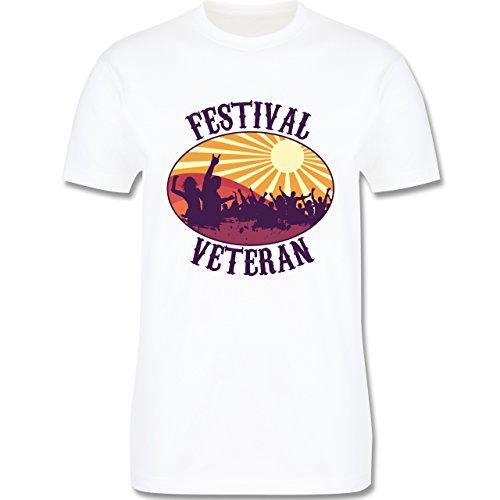 Festival - Festival Veteran Badge - Herren Premium T-Shirt Weiß