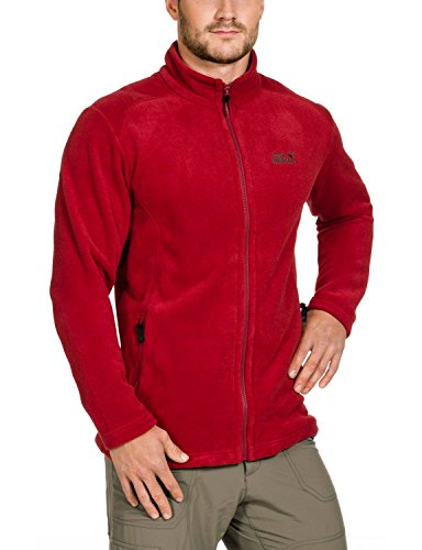 Jack Wolfskin Herren Fleecjacke Midnight Moon Men, Indian Red, XXXL, 1702601-2210007