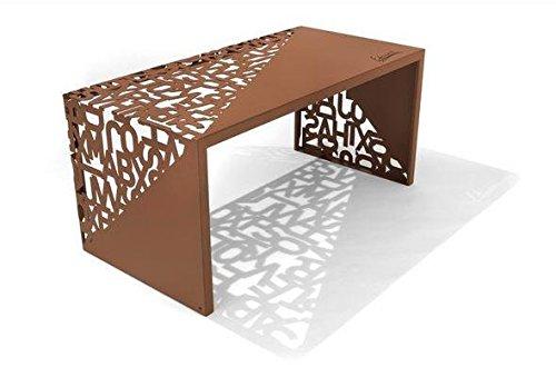 Scrivania Moderna Design : Tavolo tavolini in metallo kattedra tavolo design scrivania