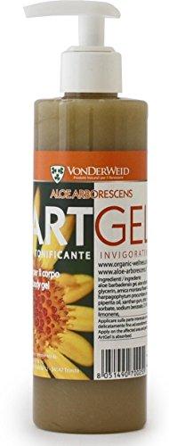 ARTGEL: crema in gel di Aloe Arborescens biologica Arnica, Artiglio