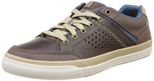 Skechers Diamondback Rendol, Men's Low-Top Sneakers, Brown (Dark Brown Dkbr), 10 UK...