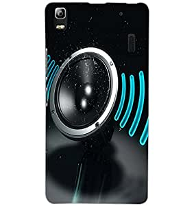 LENOVO A7000 PLUS SPEAKER Back Cover by PRINTSWAG