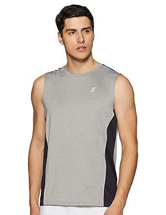 Amazon Brand - Symactive Men's Solid Regular fit T-Shirt