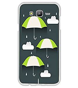 Umbrellas 2D Hard Polycarbonate Designer Back Case Cover for Samsung Galaxy On5 (2015) :: Samsung On 5
