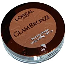 L 'Oreal Glam Bronze Compact Bronzing powder 04 universal Sun SPF 10