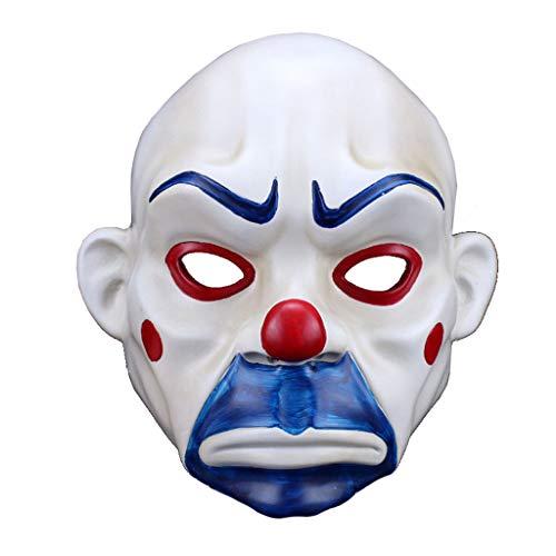 (Harz Halloween Maske Clown Robber Maske Joker traurig Film)