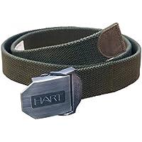 Hart Canvas Cinturón, color verde, tamaño 115 cm