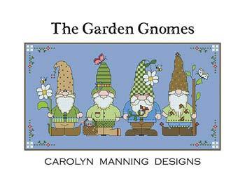 CM Designs Jardin Gnomes Croix Motif a92ed65628b6