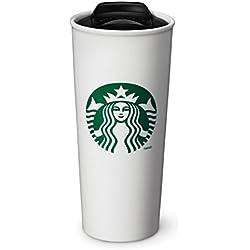 Starbucks Traveler de cerámica de doble pared taza de café, 16fl oz