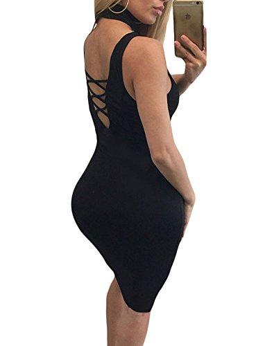 Cfanny - Robe - Moulante - Femme Small Noir