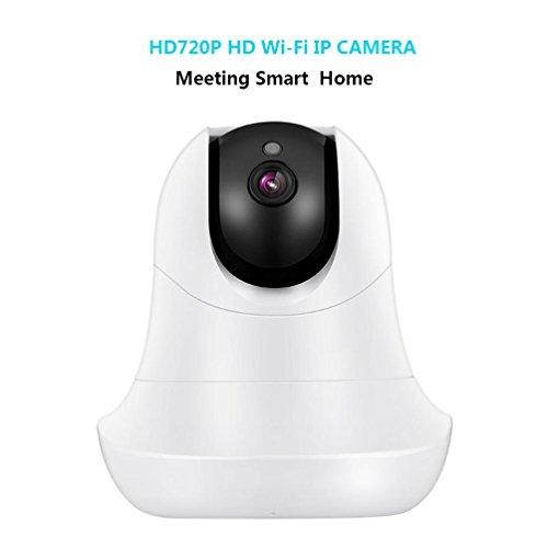 Wireless 720p telecamera di sicurezza wifi home surveillance telecamera ip pan/tilt due vie audio & visione notturna motion detection per il bambino/elder/pet/nanny monitor