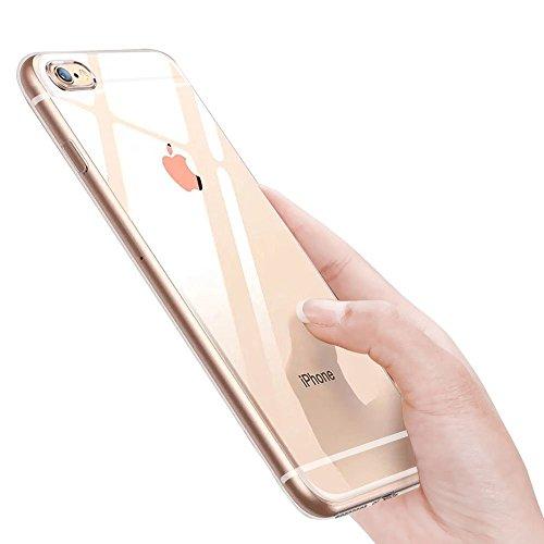 ikalula-iPhone-6S-SchutzhLLE-Ultra-Dnn-iPhone-6-HLLE-Kratzfest-STOFest-Fallschutz-Anti-Fingerabdruck-Weich-Flexibel-TPU-Silikon-HandyhLLE-fr-iPhone-6iPhone-6S-Case-Cover
