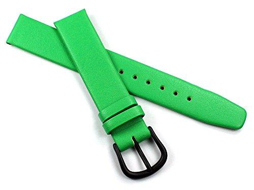 14mm Kalbleder Uhrenarmbänder für Damen in verschiedenen modischen Farben handgemacht in Deutschland Echt Leder