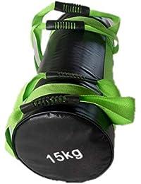 盛世汇众 Levantamiento de Pesas de Bulgaria Saco de Arena de Boxeo Ejercicios de Fitness Multi-Funcional de Entrenamiento físico de Alta Intensidad Ejercicios Bolsa de energía