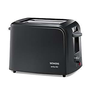Siemens - TT3A0103 - Grille-pains, 980 watts, Noir