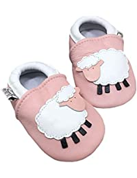 Neugeborenes Baby Winter Fleece Stiefeletten Krabbelschuhe Hausschuhe Pantoffel