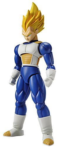 Bandai Hobby Figure-Rise Standard Super Saiyan Vegeta Dragon Ball Z Modeling Kit Model (Necessary Your Assembly)
